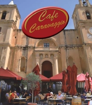 Cafe Caravaggio Valletta - St John's Cathedral - MaltaDiscountCard - Visit Malta and Gozo Tourist guide restaurants attractions history diving and more. Malta map discount pass for holiday in sunny weather