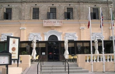Point de Vue Restaurant - Malta Discount Card Dining Guide - Malta & Gozo Holidays and Local Discount Pass - Tourism map