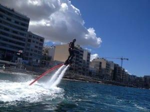 Flyboard Malta - Maltapass watersports Guide - malta discount card