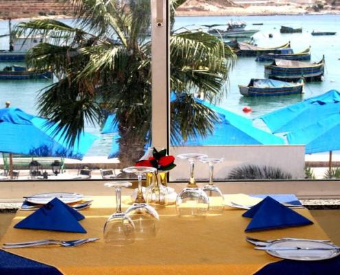 Pisces restaurant - Maltapass top restaurants Guide - malta discount card