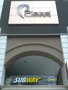 Subway Plaza Shopping Complex Sliema - Maltapass top restaurant Guide - malta discount card