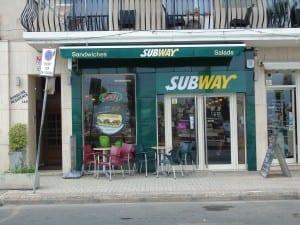 Subway Gzira - Maltapass top restaurant Guide - malta discount card