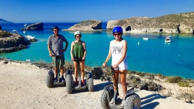 Comino Segways - Maltapass top experiences Guide - malta discount card